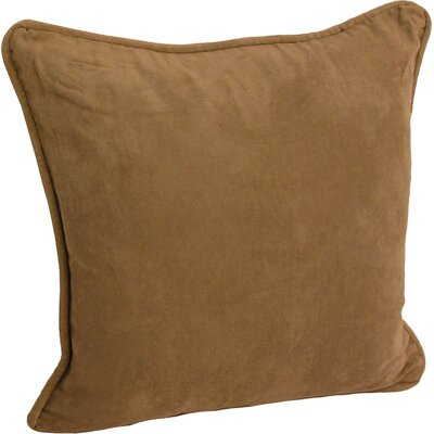 Hargreaves Corded Throw Pillow Color: Saddle Brown