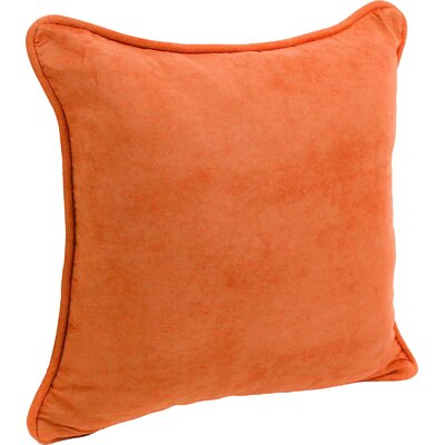 Hargreaves Corded Throw Pillow Color: Tangerine Dream