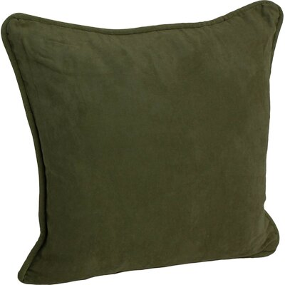 Hargreaves Corded Throw Pillow Color: Hunter Green