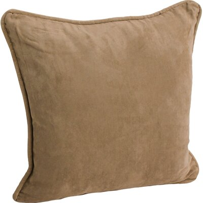 Hargreaves Corded Throw Pillow Color: Java