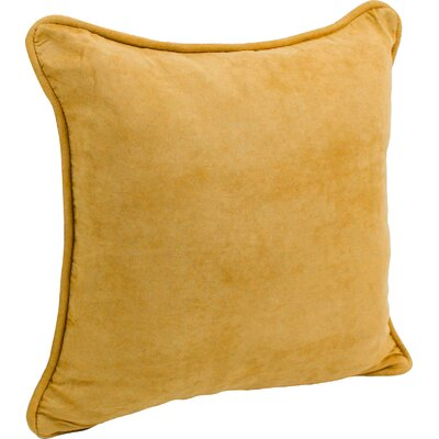 Hargreaves Corded Throw Pillow Color: Lemon