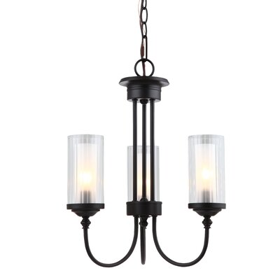 Neiman 3-Light Candle-Style Chandelier Finish: Oil Rubbed Bronze