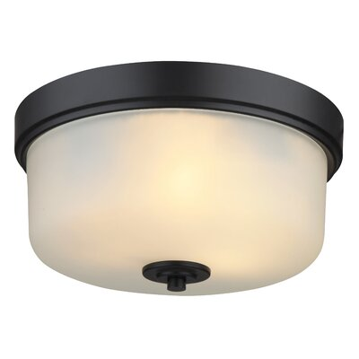 Neiman 2-Light Flush Mount