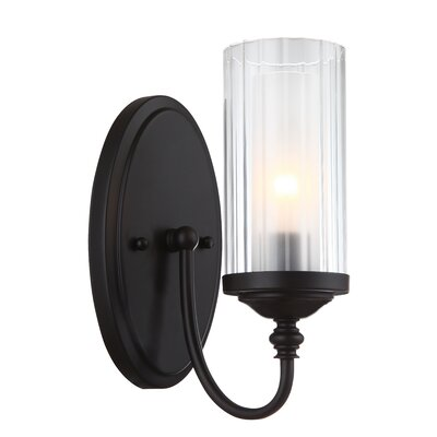 Neiman 1-Light Wall Sconce Base Finish: Oil Rubbed Bronze