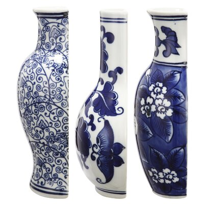 Nannie 3 Piece Ceramic Vase