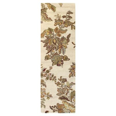 Noland Ivory Area Rug Rug Size: Runner 26 x 8