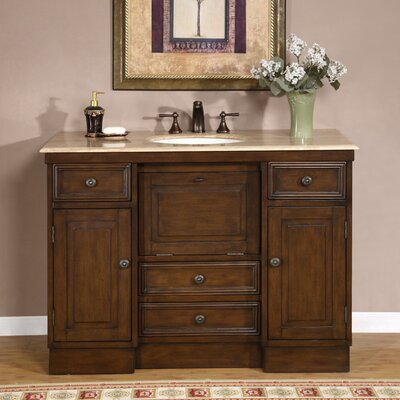 Oglesby 48 Single Bathroom Vanity Set