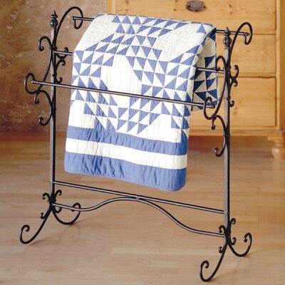 Laflamme Iron Scroll Quilt Rack