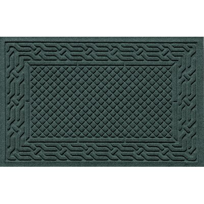 Olivares Acropolis Doormat Color: Evergreen, Mat Size: Rectangle 30 x 45