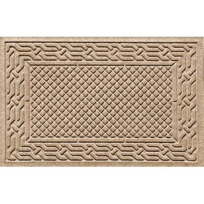 Olivares Acropolis Doormat Color: Medium Brown, Rug Size: Rectangle 30 x 45