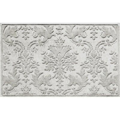Olivares Damask Doormat Rug Size: Rectangle 2'10