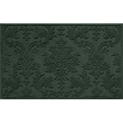 Olivares Damask Doormat Rug Size: Rectangle 2'10