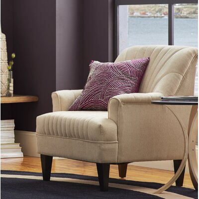 Crippen Back Armchair Color: Ivory