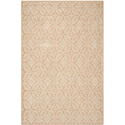 Baytown Gold Rug Rug Size: Rectangle 89 x 119