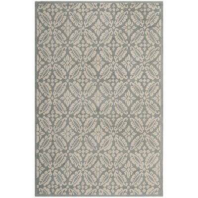 Baytown Blue Oriental Rug Rug Size: Rectangle 53 x 83