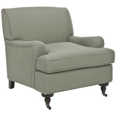 Duluth Arm Chair Upholstery: Sage Green