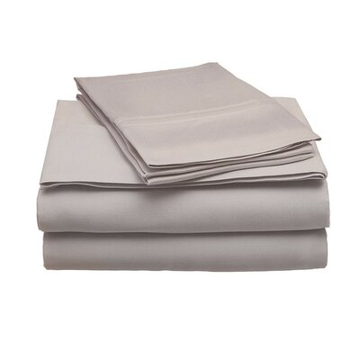 Schoonmaker 300 Thread Count 100% Modal Sheet Set Size: Full, Color: Gray