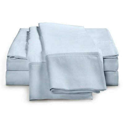 Schumann 300 Thread Count Sheet Set Color: Blue, Size: Queen