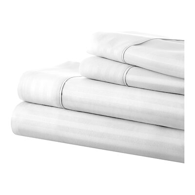 Phillip Becky Cameron Sheet Set Color: White, Size: King