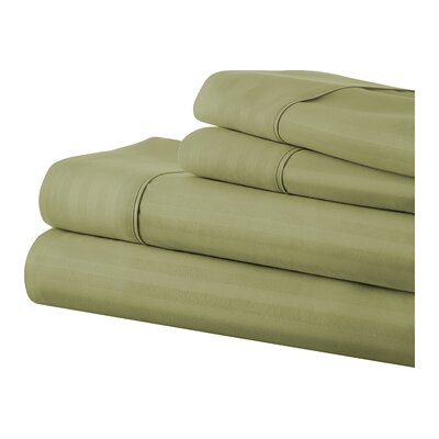 Phillip Becky Cameron Sheet Set Color: Sage, Size: Queen