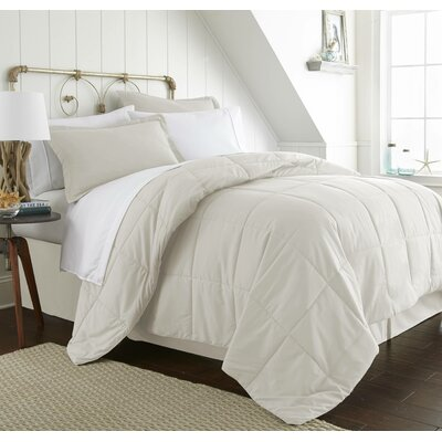 Roscoe Bed-In-A-Bag Set Color: Ivory, Size: Queen