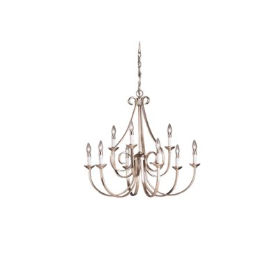 Cayman 9-Light Candle-Style Chandelier