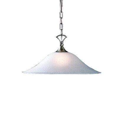 Cayman 1-Light Pendant Finish: Brushed Nickel