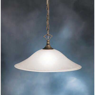 Cayman 1-Light Pendant Finish: Tannery Bronze