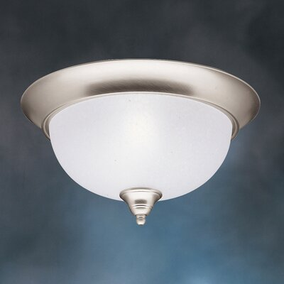 Cayman 3-Light Flush Mount Finish: Brushed Nickel