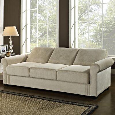 Roseville Sleeper Sofa Upholstery: Light Brown