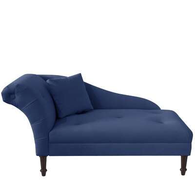 Arno Chaise Lounge Upholstery: Navy