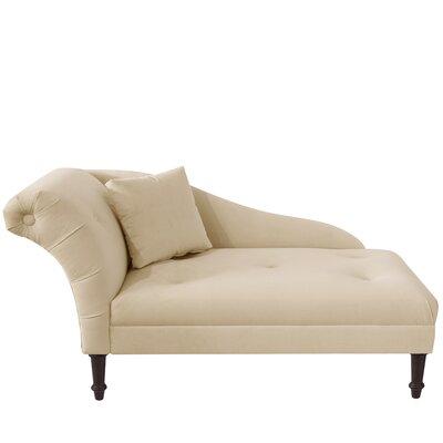 Arno Chaise Lounge Upholstery: Buckwheat