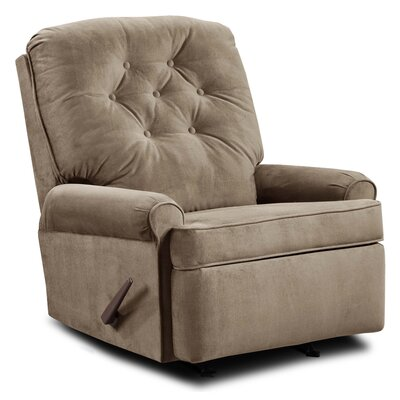 Archdale Satisfaction Rocker Recliner Upholstery: Taupe