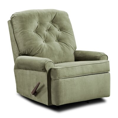 Archdale Satisfaction Rocker Recliner Upholstery: Loden