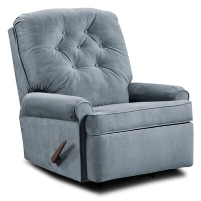 Archdale Satisfaction Rocker Recliner Upholstery: Slate
