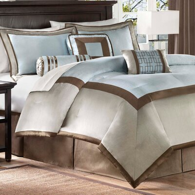 Ellis 7 Piece Comforter Set Size: King