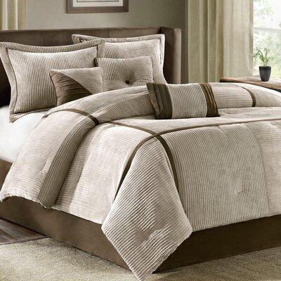 Ellsworth 7 Piece Comforter Set Size: Queen
