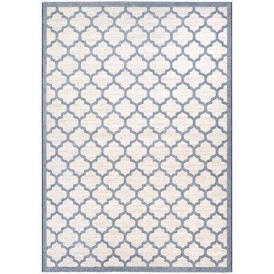 Goldsmith Oyster/Slate Blue Area Rug Rug Size: 710 x 109