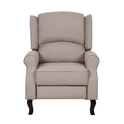Emma Manual Recline Color: Beige