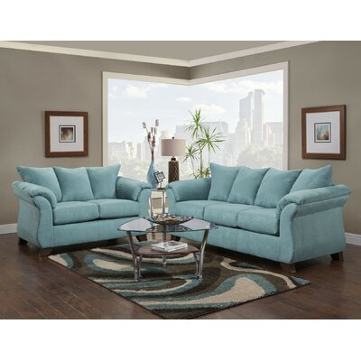 Claycomb Sofa and Loveseat Set