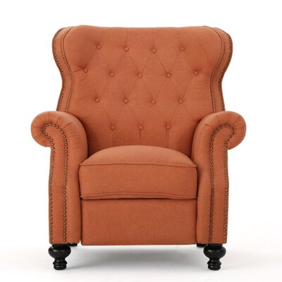 Recliner Upholstery: Orange