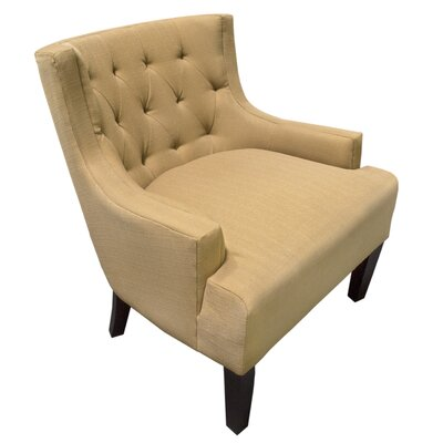 Erwin Living Room Barrel Arm Chair Upholstery Color: Mustard