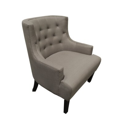 Erwin Armchair Upholstery Color: Gray