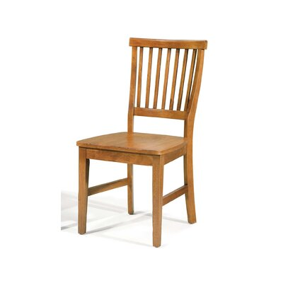 Ferryhill Solid Wood Dining Chair Finish: Cottage Oak