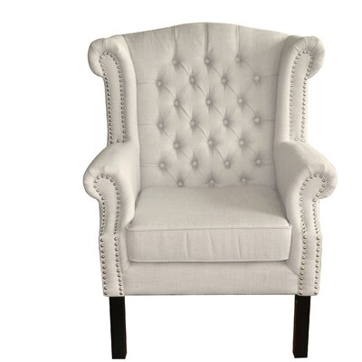 Caguas Tufted Wingback Chair