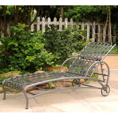 Schilling Chaise Lounge Finish: Pewter
