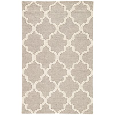 Felix Gray & Ivory Geometric Area Rug Rug Size: Rectangle 5 x 8