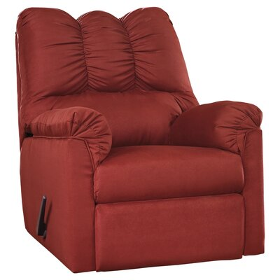 Huntsville Manual Rocker Recliner Upholstery: Salsa