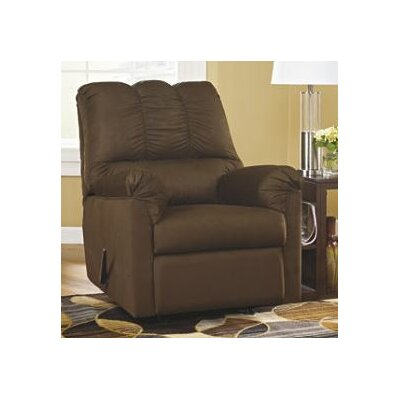 Huntsville Manual Rocker Recliner Upholstery: Caf�
