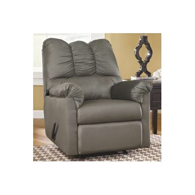Huntsville Manual Rocker Recliner Upholstery: Cobblestone